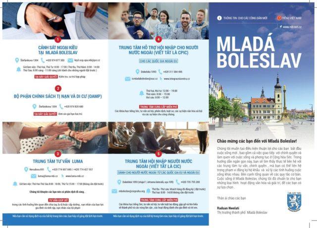Thông tin liên hệ cần thiết cho người Việt sinh sống tại Mlada Boleslav