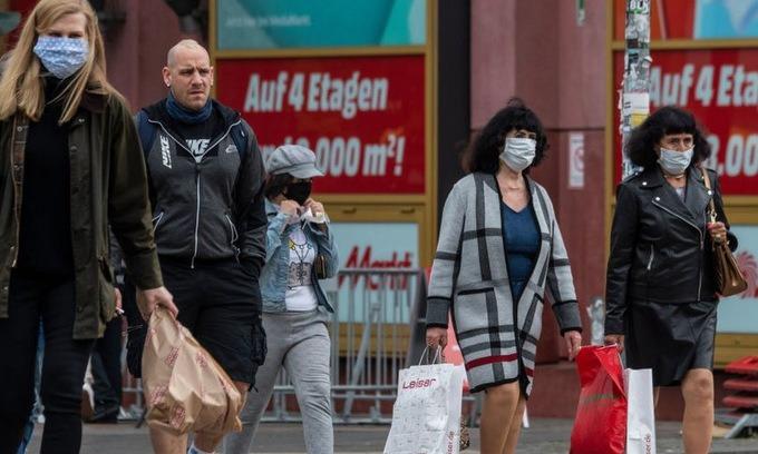 Ca nhiễm mới ở Đức